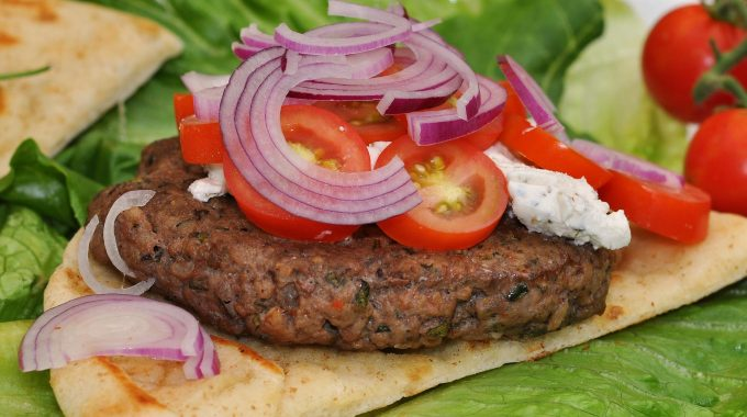 Mmm… Lamb Burger With Herbed Goat Cheese (6046720185)